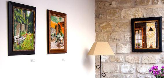 Exposición de pintura de Álvaro Quevedo